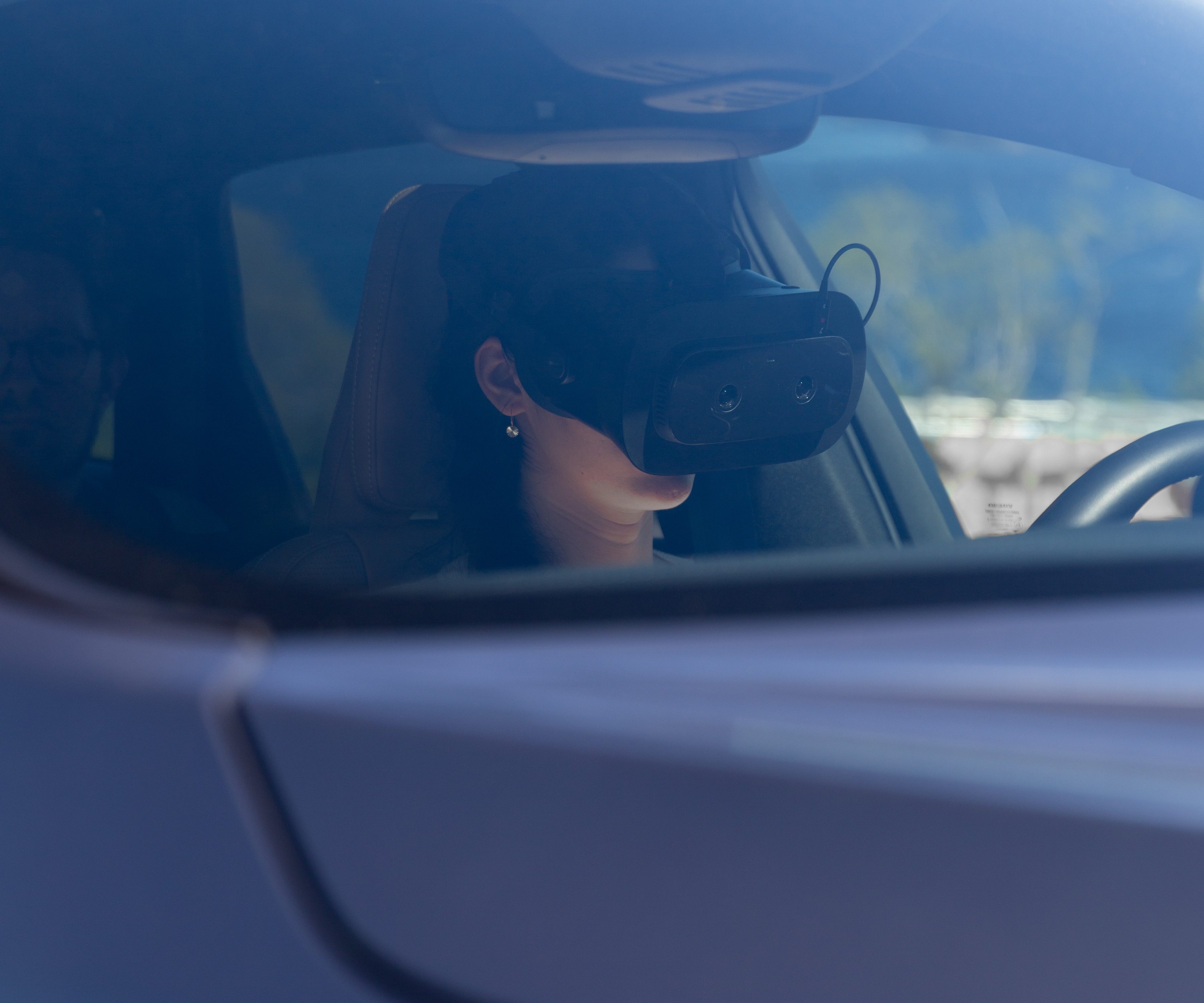 The world's first XR test drive