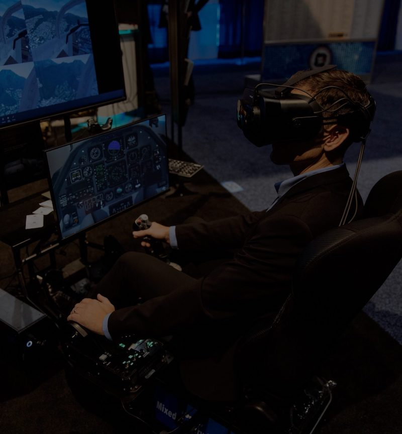 FlightSafety International: Training and Simulation in Virtual Reality and Mixed reality – XR and VR case studies with Varjo