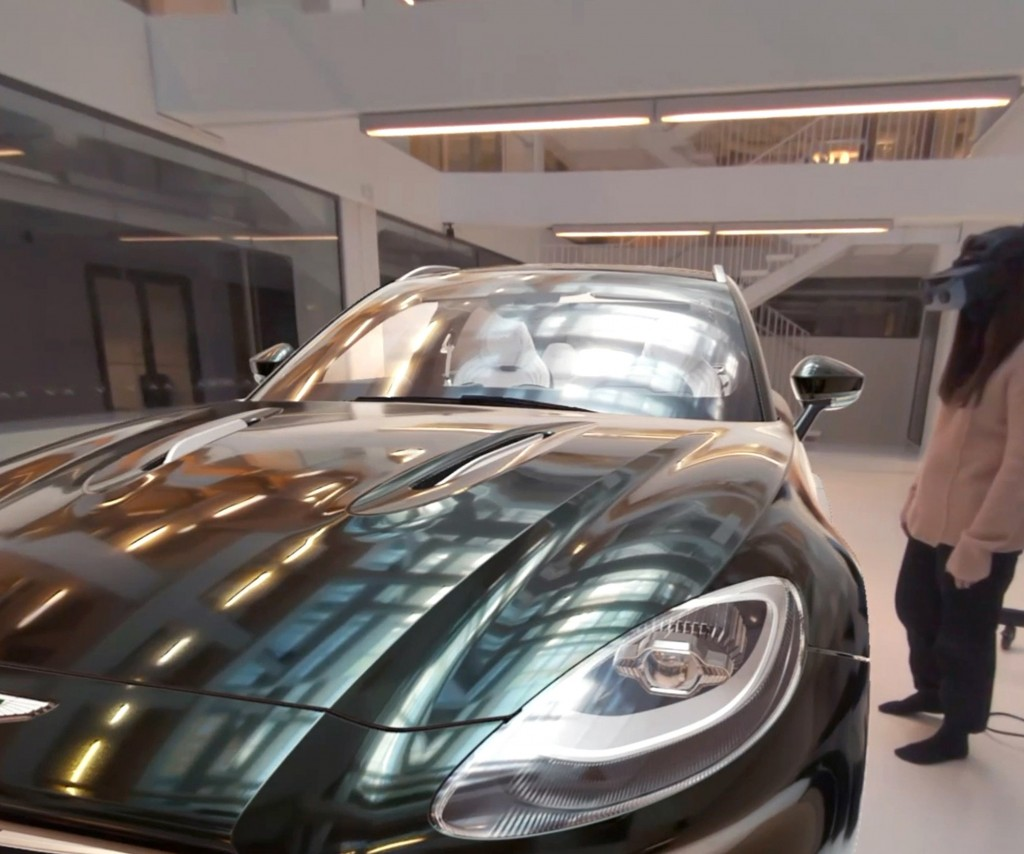 Aston Martin Uses Immersive Technology by Lenovo and Varjo. The 3D model of the Aston Martin DBX is made with Unity.