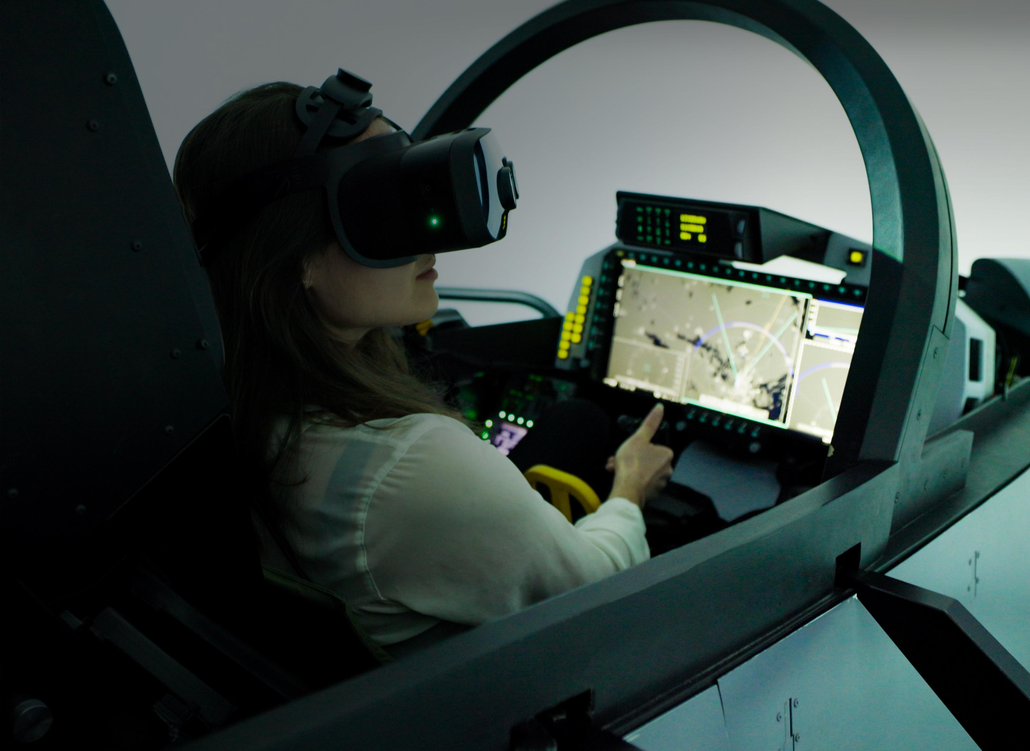 Saab and Varjo work together to revolutionize flight simulators. Varjo's mixed reality technology will be integrated into all Saab Gripen E/F simulators.